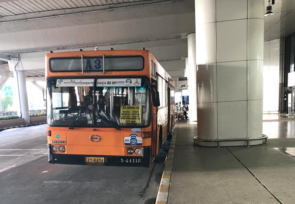 ドンムアン空港のA3バス