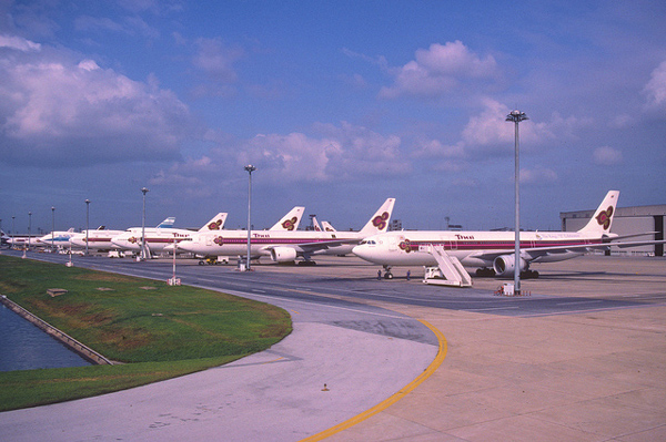 1999年のドンムアン空港の様子