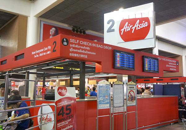 ドンムアン空港ターミナル内の様子