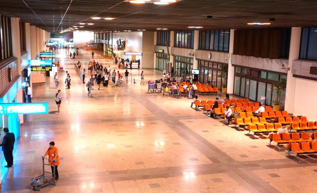 ドンムアン空港到着フロア