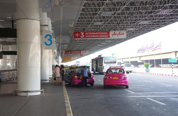 ドンムアン空港出発階