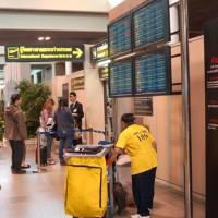 ドンムアン空港国際線出発口