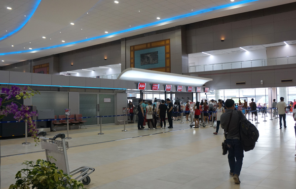 ドンムアン空港ターミナル2(国内線専用)