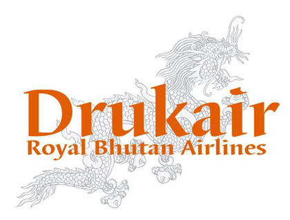 ドゥルク航空(ロイヤルブータン航空)のロゴ