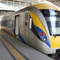 マレーシアの電車 ETS