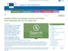 The EU Air Safety List