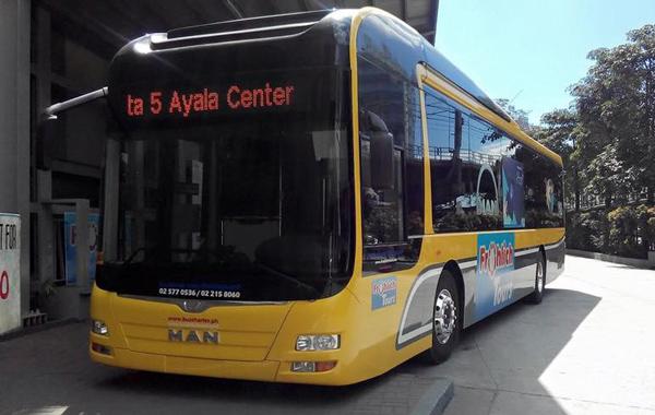 マニラのプレミアムP2Pバス