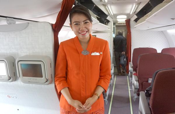ガルーダ・インドネシア航空のフライトアテンダント