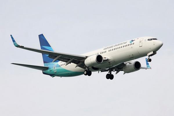 ガルーダ・インドネシア航空 ボーイング737-800型機
