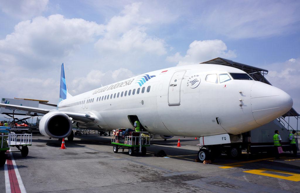 ガルーダ・インドネシア航空のボーイング737-800型機