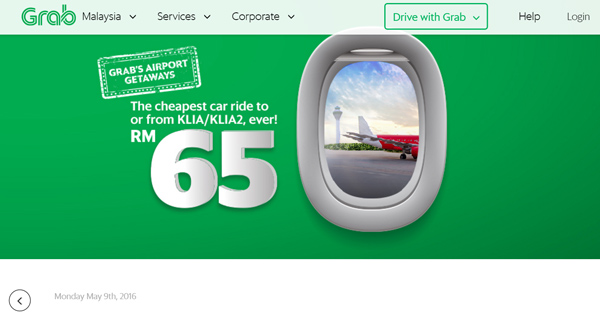 GRAB'S AIRPORT GETAWAYS!