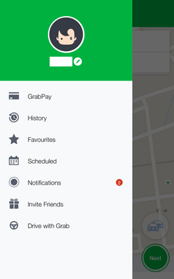 Grabアプリ