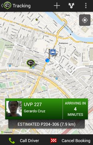 タクシー詳細