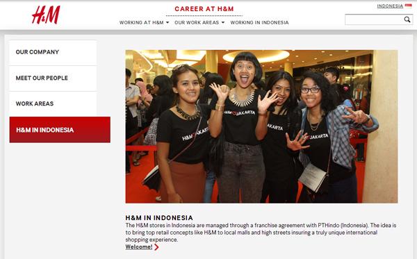 H&M ジャカルタ1号店がオープン