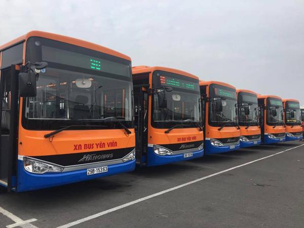 ノイバイ空港とキムマー通りを結ぶ90番バス