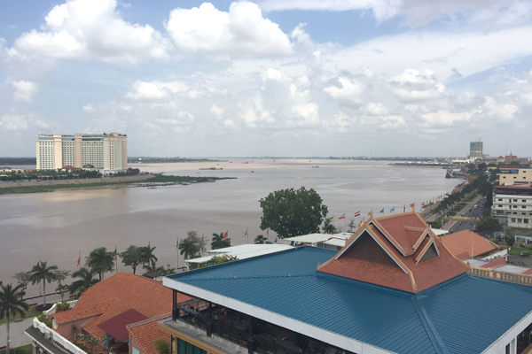 11階のプールからの景観