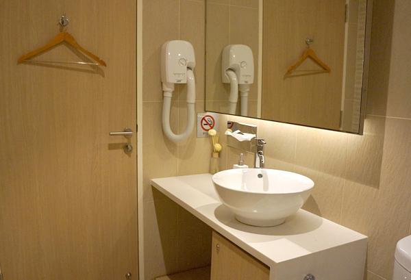 シャワールーム内の様子