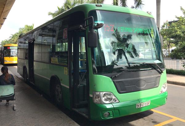 ホーチミンの152番バス
