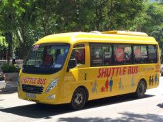 空港とホーチミン市内中心部を結ぶ49番バス