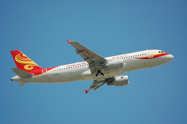 香港航空のエアバスA320-200