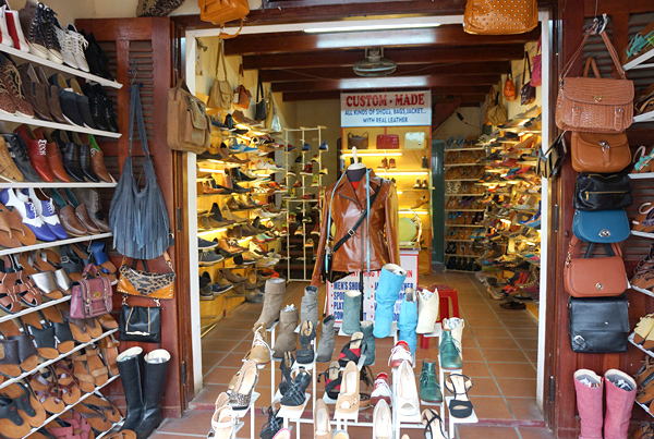 ホイアンの靴屋