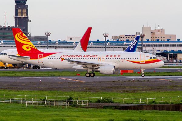 香港航空のエアバスA320型機