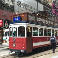 1920年代の車両を再現した香港のトラム