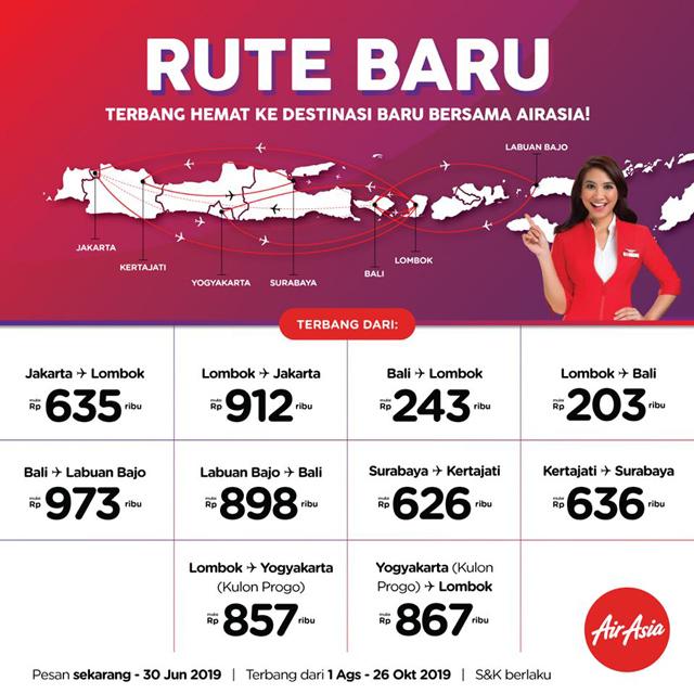 インドネシア・エアアジア、8月より国内線5路線を新規開設