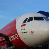 インドネシア・エアアジア エアバスA320型機