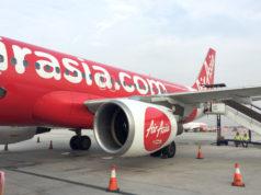 インドネシア・エアアジアのエアバスA320型機
