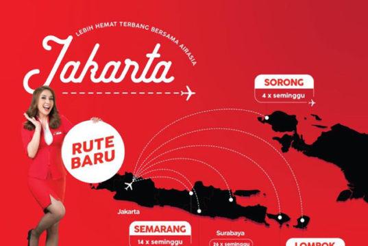 インドネシア・エアアジア、国内線3路線を新設