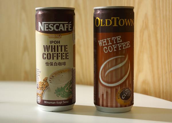 缶入りホワイトコーヒー