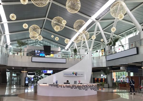 ジャカルタ空港鉄道駅