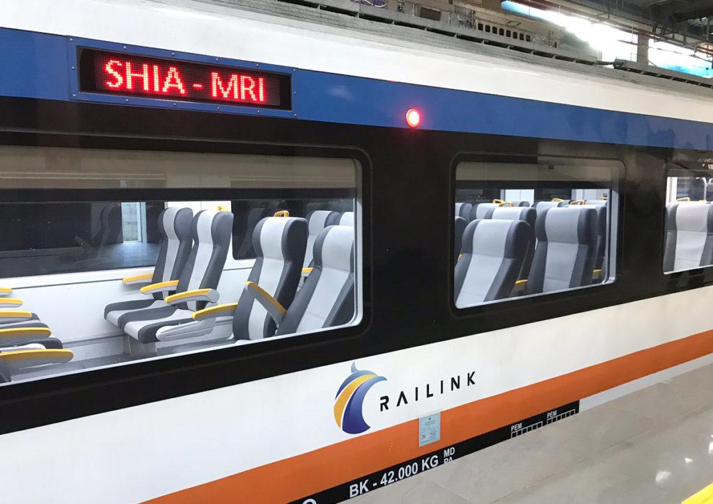 ジャカルタ空港鉄道の車両