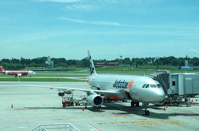 ジェットスター・アジア航空のエアバスA320型機