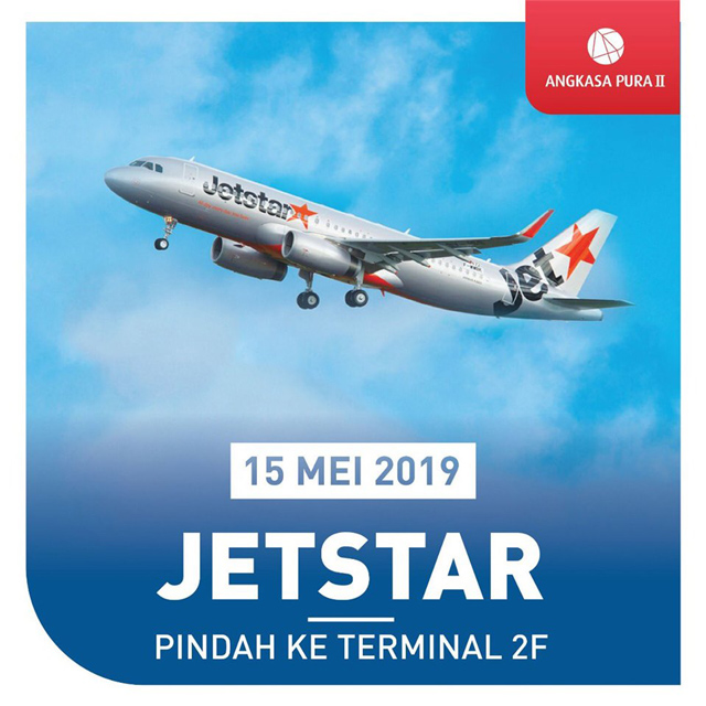 ジェットスター・アジア、ジャカルタ発着便をターミナル2Fに移転