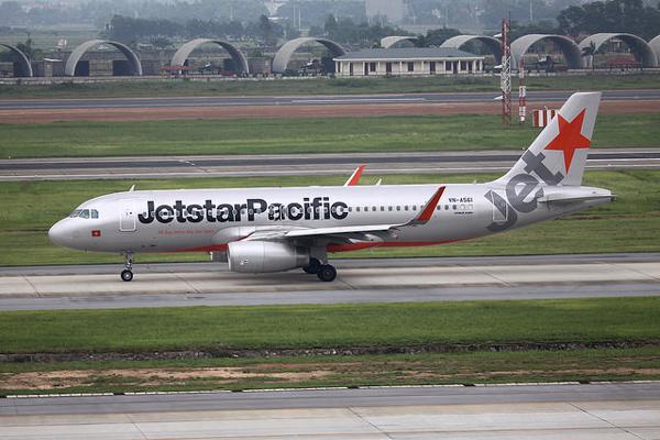 ジェットスター・パシフィック航空のエアバスA320型機