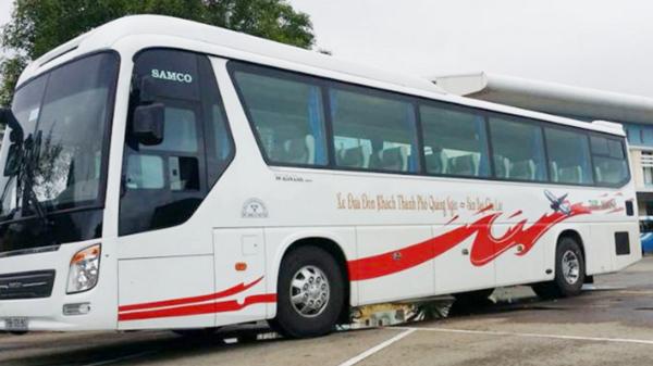 チューライ空港の無料シャトルバス