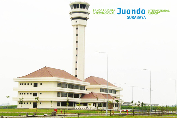 スラバヤのジュアンダ国際空港