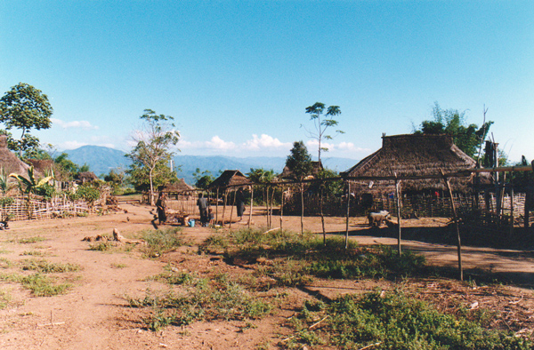 少数民族の集落