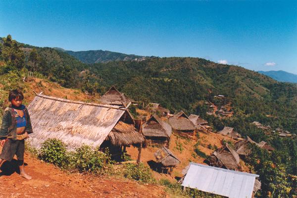 エン族の集落