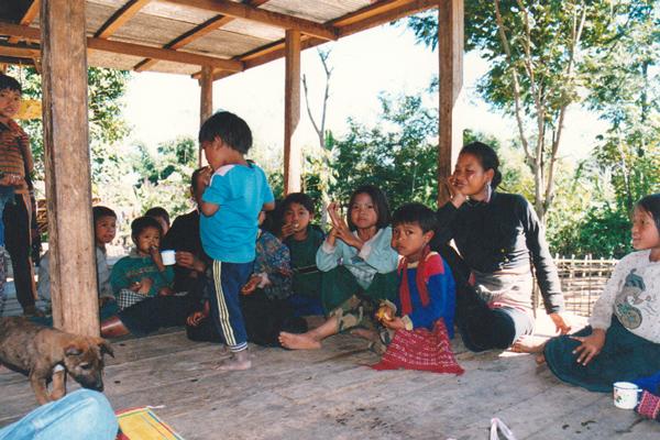 少数民族の村