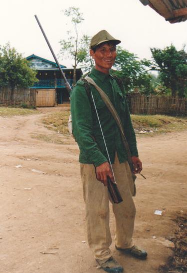 ラフ族の男性