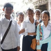 カンボジア・アンコールワットで