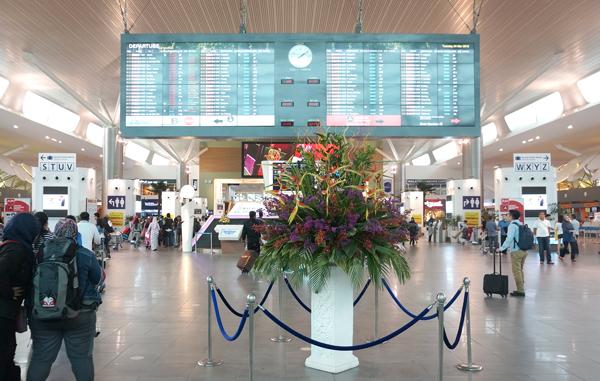 KLIA2ターミナル内の様子