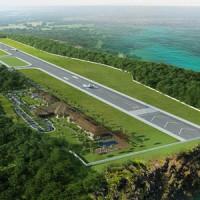 パンガン空港のイメージ図
