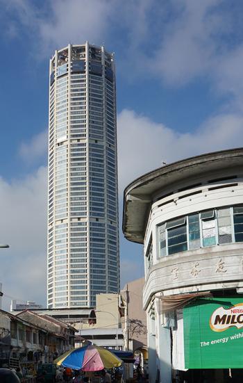 ペナン最高層のビル、コムタ