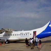 ラオス国営航空ATR72型機