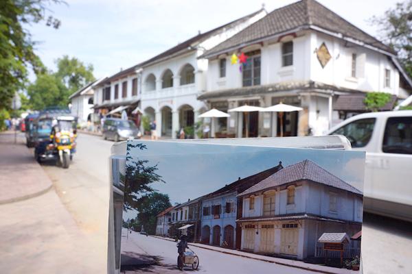ルアンパバーン 1999年と2014年