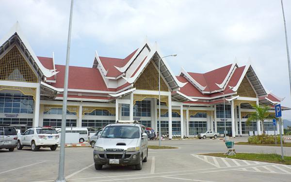 ルアンパバーン空港 2014年